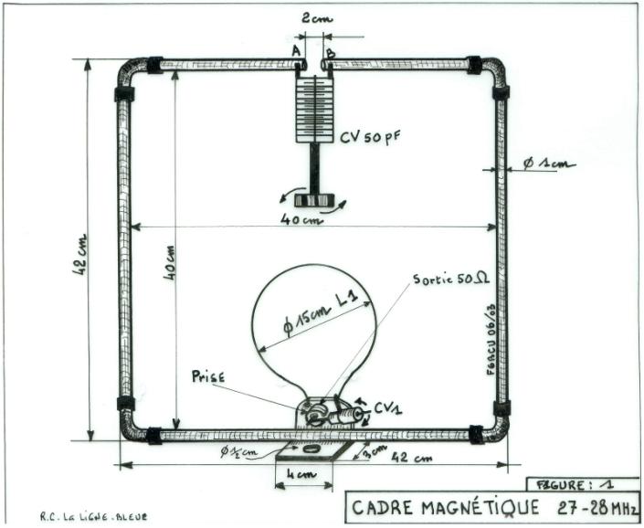 radioamateur ca antennes cadre magn tique 27 28 mhz. Black Bedroom Furniture Sets. Home Design Ideas