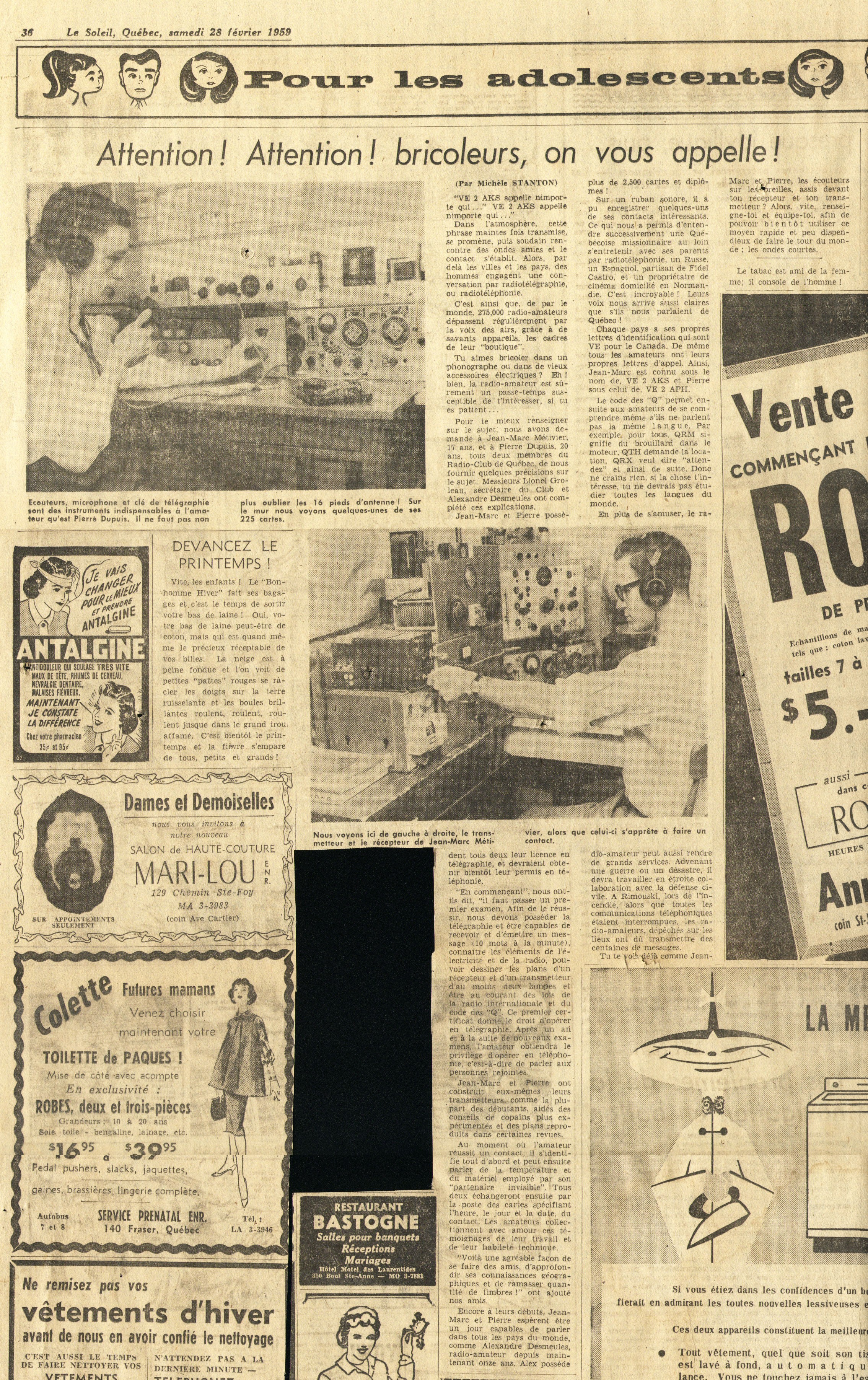 Historique Radio REF / Journal des 8 - radioamateurorg